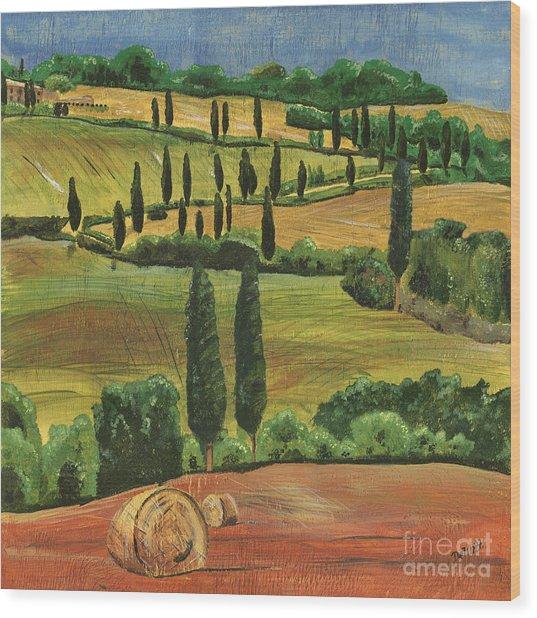 Tuscan Dream 1 Wood Print