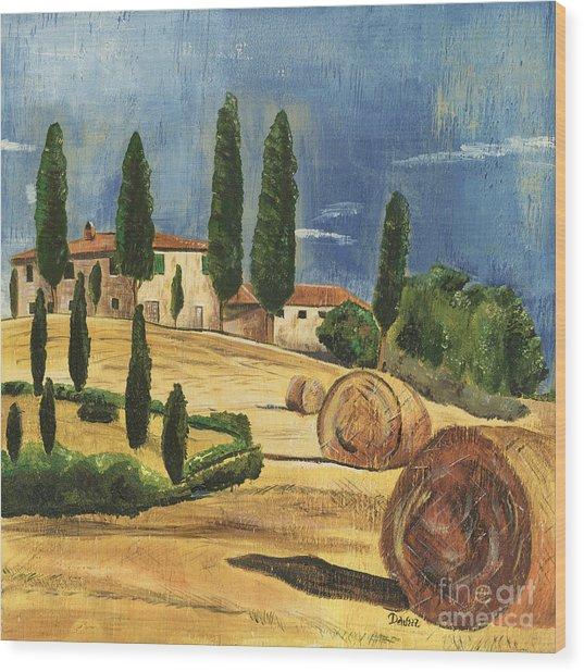 Tuscan Dream 2 Wood Print