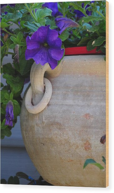 Tuscan Pot Wood Print