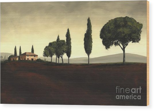 Tuscan Style  Wood Print