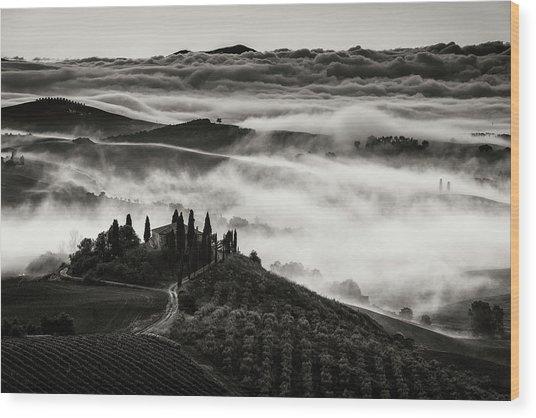 Tuscany Wood Print