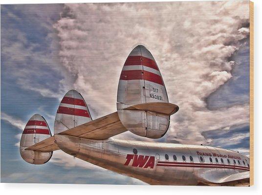 TWA Wood Print