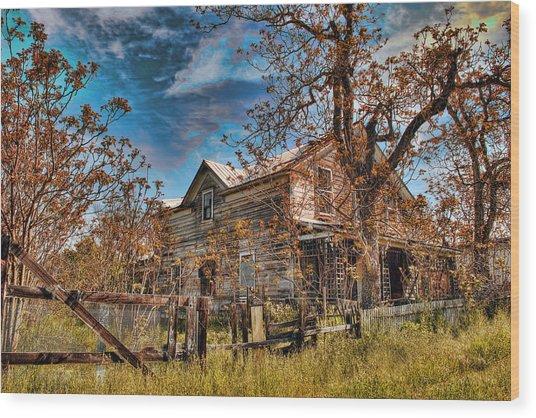 Twainhart House Wood Print