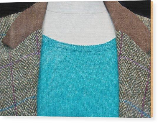Tweed Jacket Wood Print