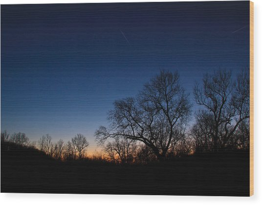 Twilight Dream Wood Print