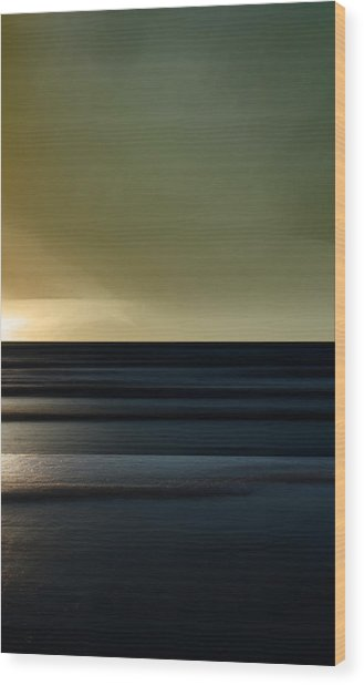 Twilight - Sauble Beach Wood Print