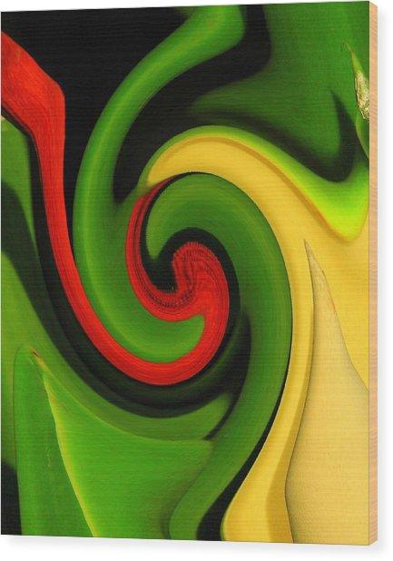 Twirl Wood Print