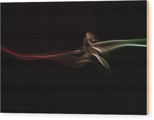 Twisted Wood Print by Mike Farslow