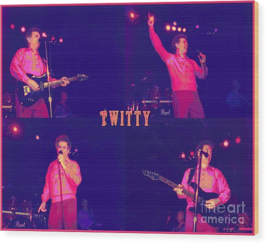Twitty Made Country Pop Wood Print