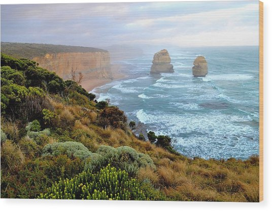 Two Apostles - Great Ocean Road - Australia Wood Print