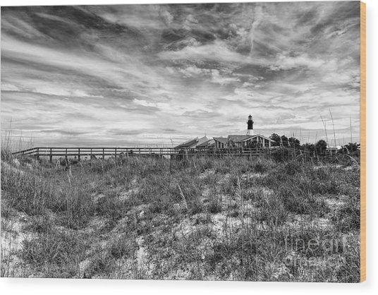 Tybee Island Light Station Wood Print