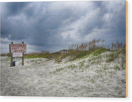 Tybee Island Wood Print by Donnie Smith