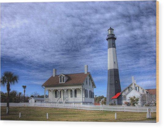 Tybee Island Lighthouse Wood Print