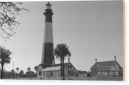 Tybee Lighthouse 1 Wood Print