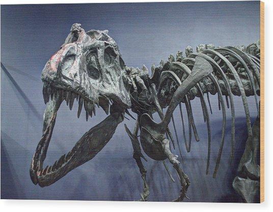 Tyrannosaurus Jane Wood Print