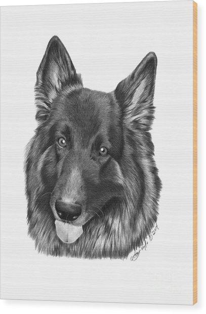 Tyson -038 Wood Print