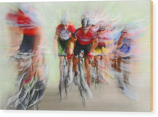 Ultimo Giro # 2 Wood Print