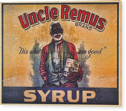 Uncle Remus  Wood Print by Lee Dos Santos