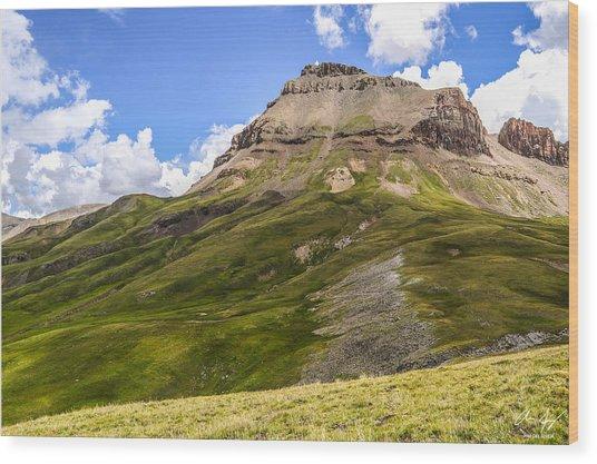 Uncompahgre Peak Wood Print