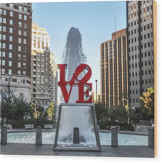 Unconditional Love Wood Print