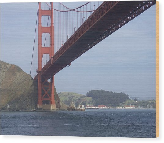 The Golden Gate Bridge San Francisco California Scenic Photography - Ai P. Nilson Wood Print