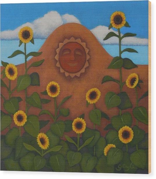 Under The Sun Wood Print