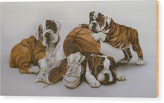 Underdogs Wood Print