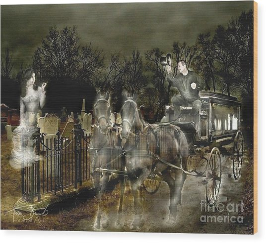 Undertaker Wood Print by Tom Straub