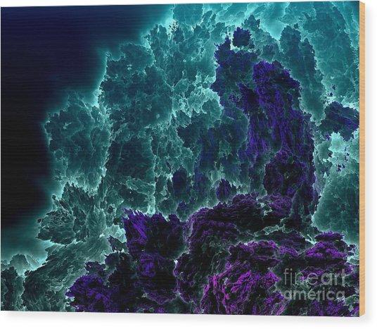 Underwater 7 Wood Print by Bernard MICHEL