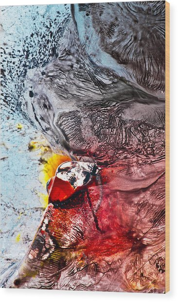 Underworld Feeding Ground Wood Print by Petros Yiannakas
