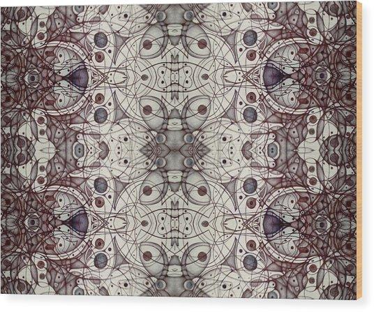 Undesignated Blank Inside Card Wood Print