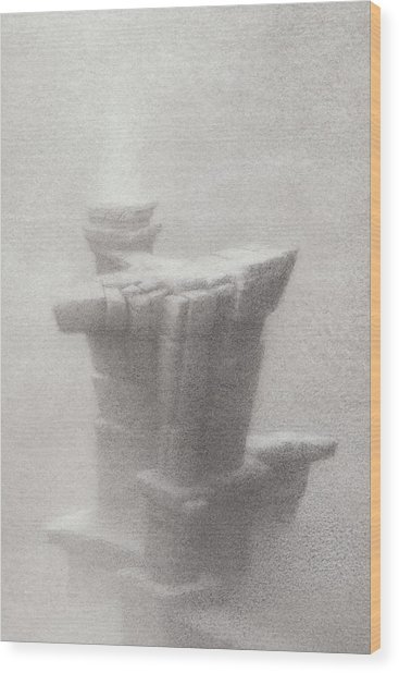 Unfailing Wood Print by Mark  Reep