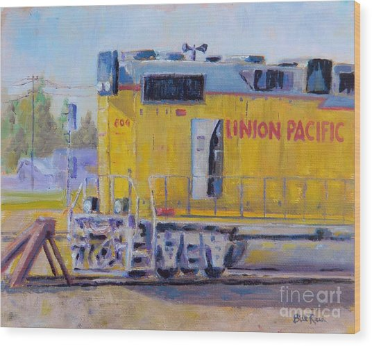 Union Pacific #604 Wood Print