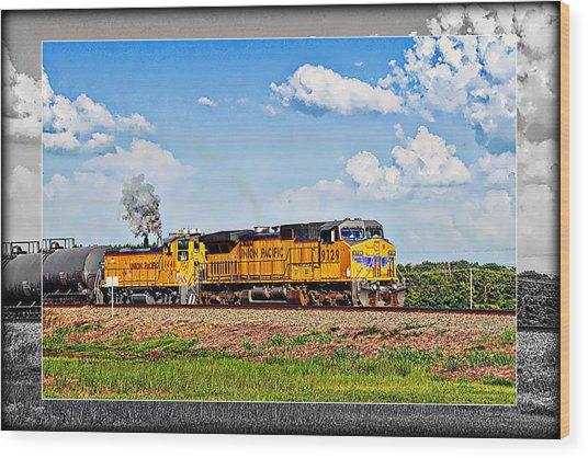 Union Pacific Railroad 2 Wood Print