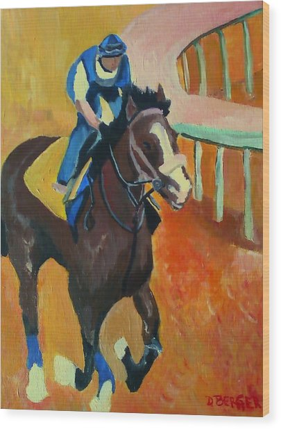 Union Rags Kentucky Derby  Wood Print