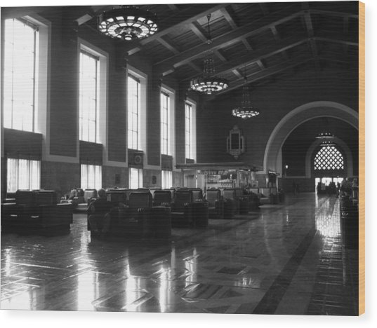 Union Station Los Angeles Wood Print