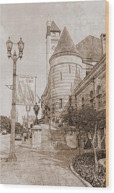Union Station St Louis Mo Wood Print