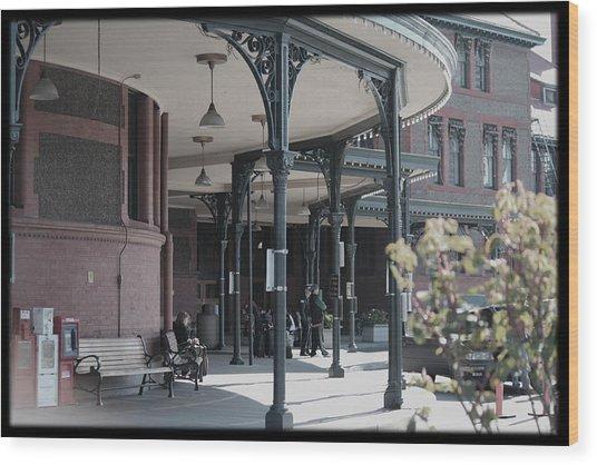 Union Street Station Wood Print