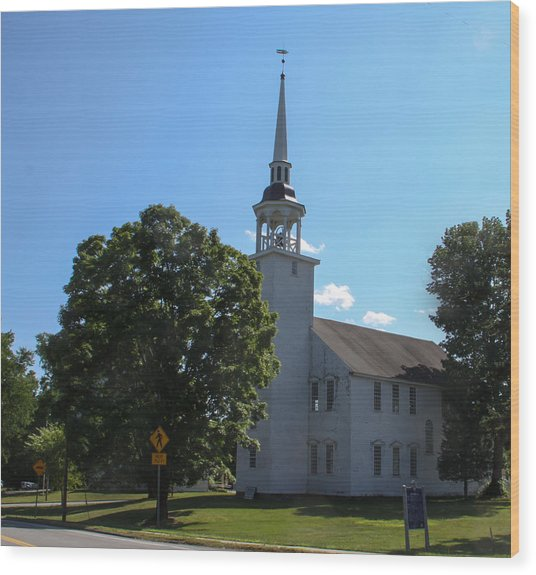 Unitarian Universalist Society Wood Print