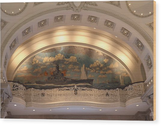 United States Naval Academy In Annapolis Md - 121216 Wood Print