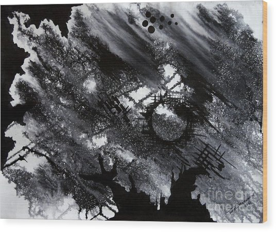 The Spot Wood Print