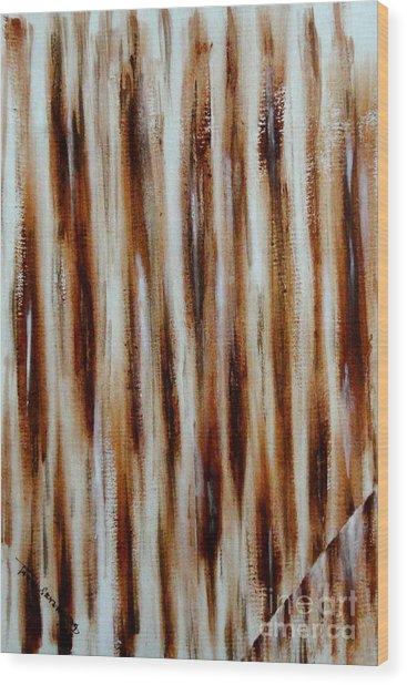 Break The Monotonous Wood Print