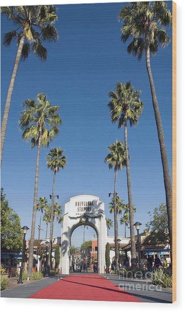 Universal Studios Red Carpet Wood Print