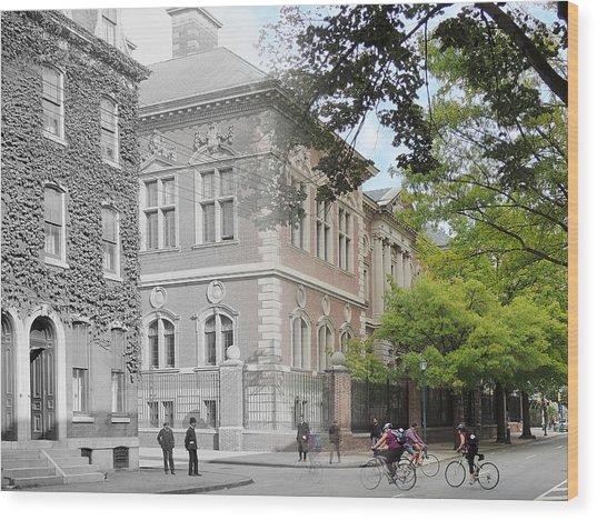 University Of Pennsylvania Law Department Wood Print