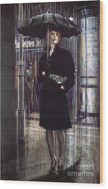 Unsere Frau IIi  Wood Print
