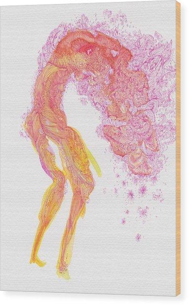 Untitled - #ss14dw083 Wood Print by Satomi Sugimoto