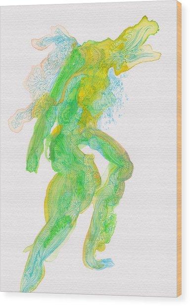 Untitled -  #ss14dw088 Wood Print by Satomi Sugimoto