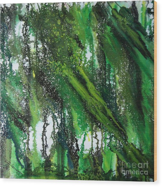 Forest Of Duars Wood Print