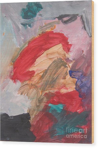 Untitled #56  Original Painting Wood Print