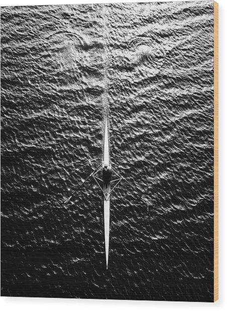 Untitled Wood Print by Friedhelm Hardekopf